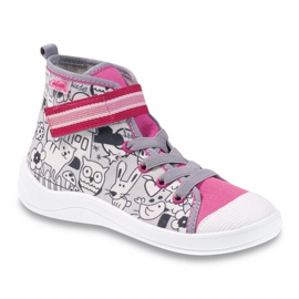 Befado obuwie dziecięce    wzór do kolorowania 268X064 wielokolorowe