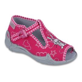 Befado obuwie dziecięce 213P105 różowe
