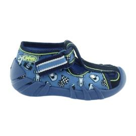 Niebieskie Befado obuwie dziecięce 190P083