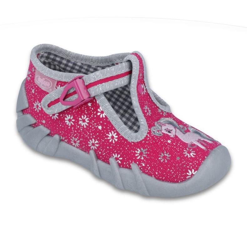 Befado obuwie dziecięce 110P329 różowe