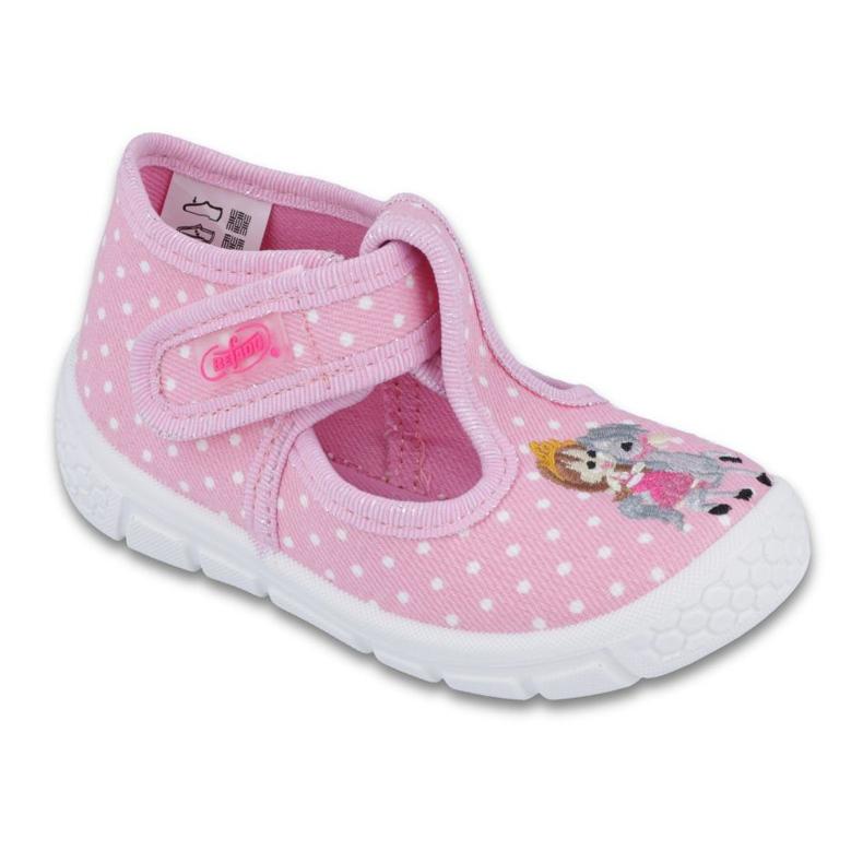 Befado obuwie dziecięce honey-pu 531P005 różowe