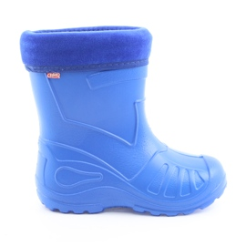 Niebieskie Befado obuwie dziecięce kalosz- chabrowy 162P106