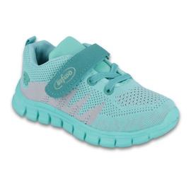 Zielone Befado obuwie dziecięce do 23 cm 516X026