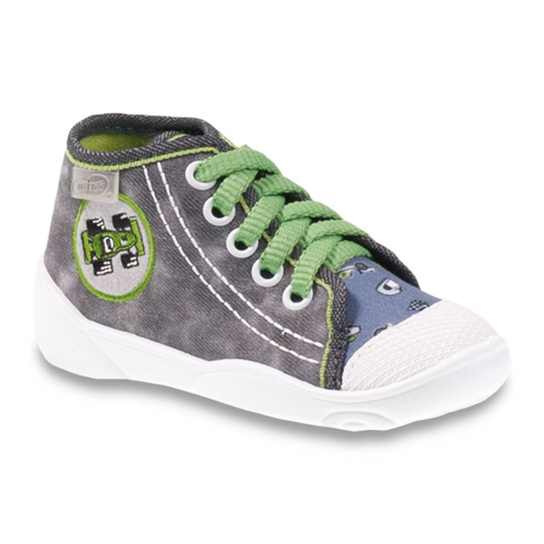 Befado szare obuwie dziecięce 218P052