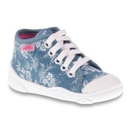 Niebieskie Befado obuwie dziecięce 218P056