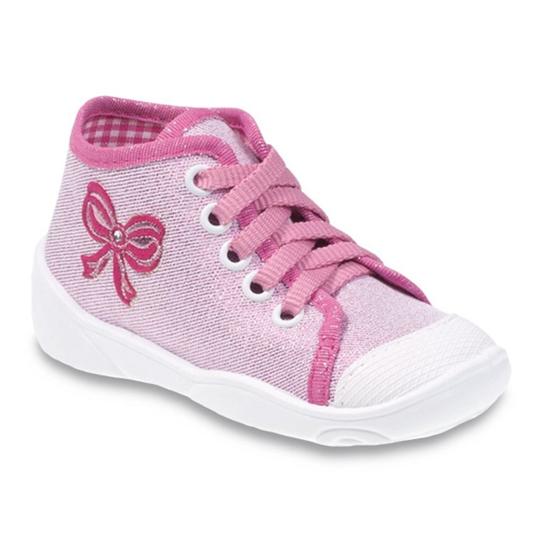Befado różowe obuwie dziecięce 218P047