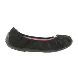 Befado obuwie młodzieżowe 893Q093 czarne