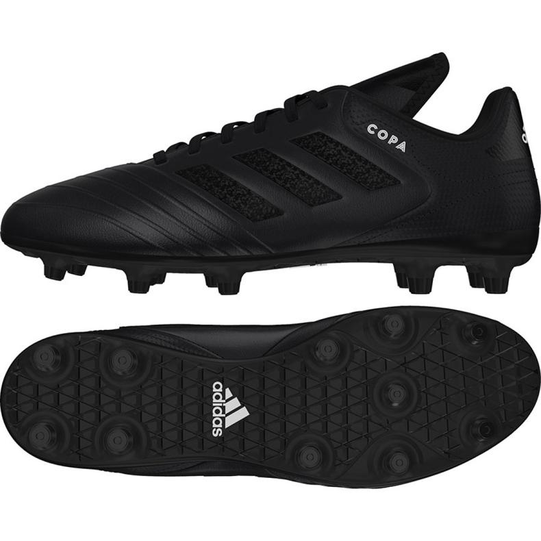 Buty piłkarskie adidas Copa 18.3 Fg M DB2460 czarne biały, czarny