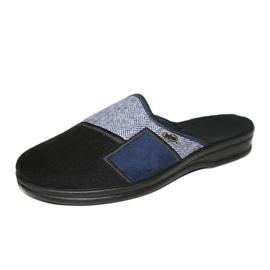 Befado obuwie męskie pu 953M021 czarne