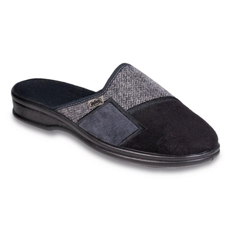 Befado obuwie męskie pu 953M022 czarne