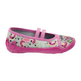 Befado obuwie dziecięce kapcie balerinki 116x231