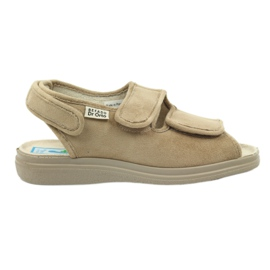 Brązowe Sandały dla cukrzyków Befado 676d004
