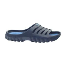 American Club granatowe American klapki buty dziecięce basenowe