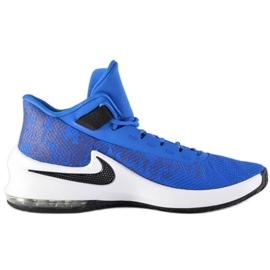Buty koszykarskie Nike Air Max Infuriate 2 Mid M AA7066-400 niebieskie niebieskie