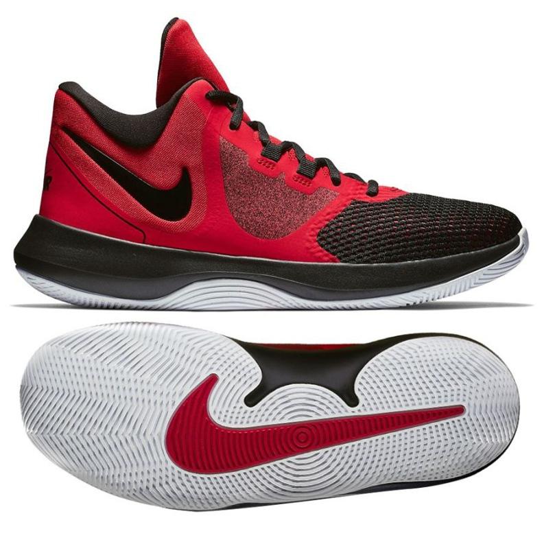Buty koszykarskie Nike Air Precision Ii M czerwone