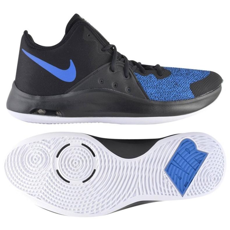 Buty koszykarskie Nike Air Versitile Iii M AO4430-004 granatowe wielokolorowe