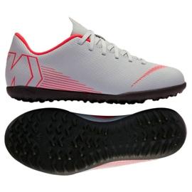 Buty piłkarskie Nike Mercurial VaporX 12 club Tf Gs Jr AH7355-060