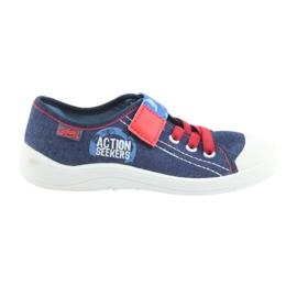 Befado obuwie dziecięce 251X101 niebieskie