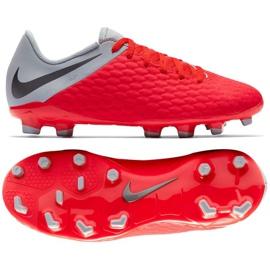 Buty piłkarskie Nike Hypervenom Phantom 3Academy Fg Jr AJ4119-600