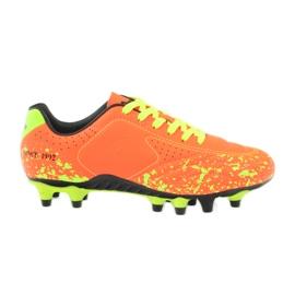 American Club American ADI sportowe korki buty dziecięce pomarańczowe