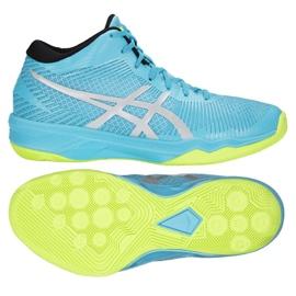 Buty do siatkówki Asics Gel-Volley Elite Ff Mt M B750N-400 niebieski niebieskie