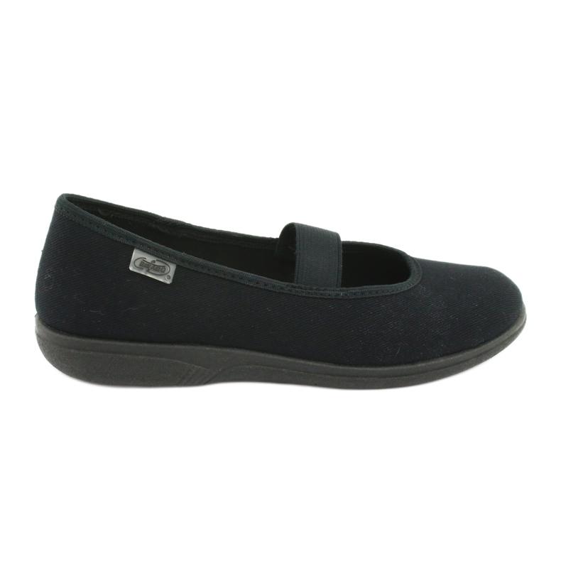 Befado obuwie młodzieżowe pvc 412Q002 czarne