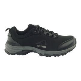 American Club American sportowe buty damskie wodoodporne softhell 1802 czarne