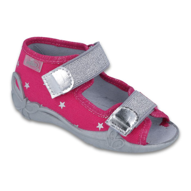 Befado obuwie dziecięce 242P085 różowe