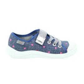 Befado obuwie dziecięce 251X105 niebieskie