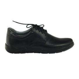 Riko buty męskie półbuty 849 czarne