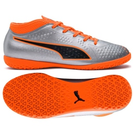 Buty halowe Puma One 4 Syn It Jr 104783 01