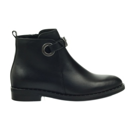 Edeo botki czarne 3243