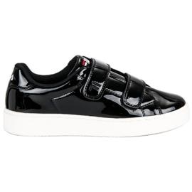 Czarne Fila Upstage Velcro Low Wmn