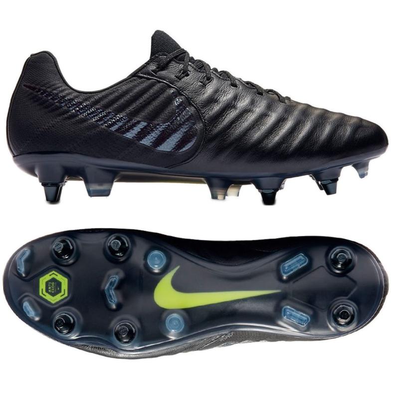Buty piłkarskie Nike Tiempo Legend 7 Elite Sg Pro Ac M AR4387-001 czarne czarne