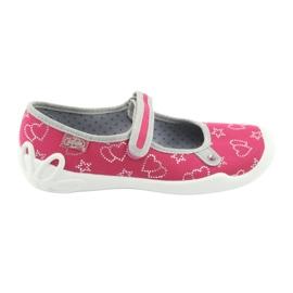 Różowe Befado obuwie dziecięce 114Y310