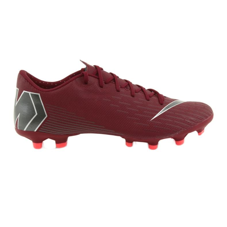 Buty piłkarskie Nike Mercurial Vapor 12 Academy Fg M AH7375-606 czerwone czerwone