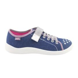 Befado obuwie dziecięce 251Q109 niebieskie