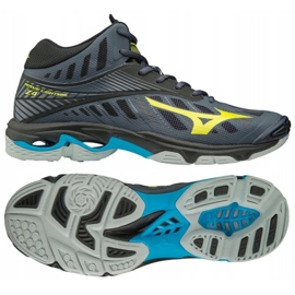Buty do siatkówki Mizuno Wave Lighting Z4 Mid M V1GA180547