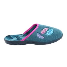Befado kolorowe obuwie damskie 235D166