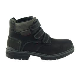 American Club czarne American trzewiki buty zimowe 708139