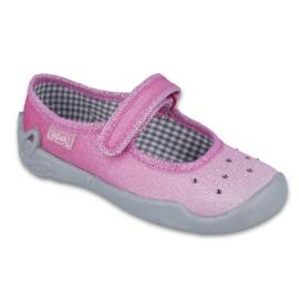 Różowe Befado obuwie dziecięce 114X307