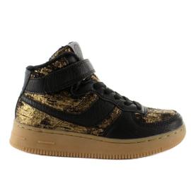 Brązowe Dziecięce buty sportowe ocieplane k1646103 Oro
