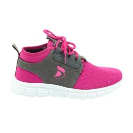 Befado buty dziecięce sportowe 516Y033 różowe