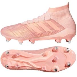 Buty piłkarskie adidas Predator 18.1 Sg różowe
