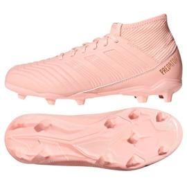 Buty piłkarskie adidas Predator 18.3 Fg różowe