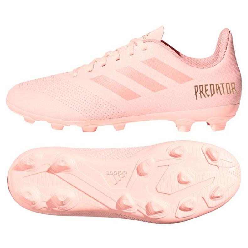 Buty piłkarskie adidas Predator 18.4 FxG różowe