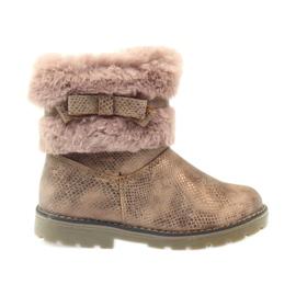 American Club American kozaki buty zimowe z futrem17042