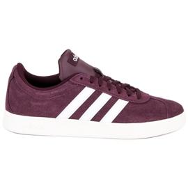 Czerwone Adidas Vl Court 2.0 B43809