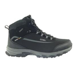 American Club American trekkingi buty zimowe z membraną czarne