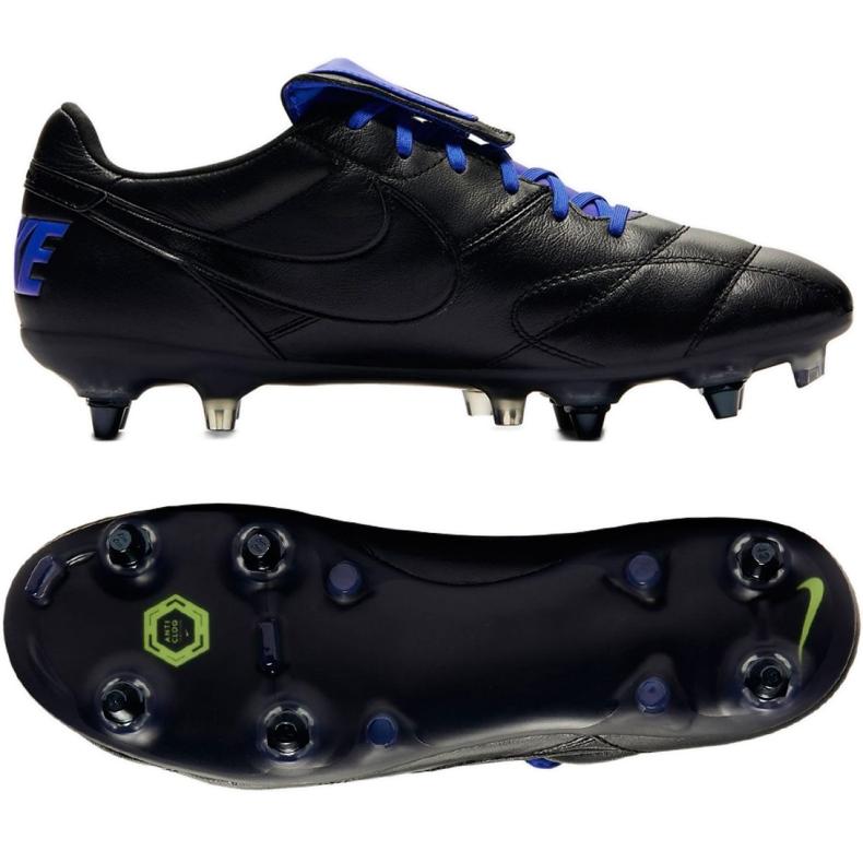 Buty piłkarskie Nike The Nike Premier Ii Sg Pro Ac M 921397-040 czarne czarne